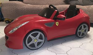 Power wheels, ride on toys, toy car, toddlers Electric kids car Ferrari for Sale in HALNDLE BCH, FL