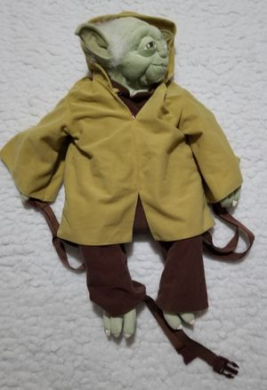 Yoda plush backpack. Star Wars. New with tag for Sale in Columbus, OH
