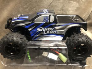 PXtoys 1/18 2.4G 4WD Sandy Land Monster Truck HJ209131 RC Car for Sale in Los Angeles, CA