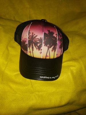 Truckers Mesh Palm Trees Baseball Hat for Sale in Scottsbluff, NE