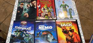 For kids Like new Harry Potter ,Elf two dvd ,shrek third ,Nemo and more for Sale in Houston, TX