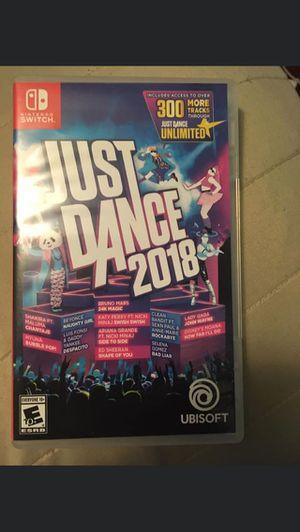 Just Dance 2018 Nintendo Switch for Sale in Alexandria, VA