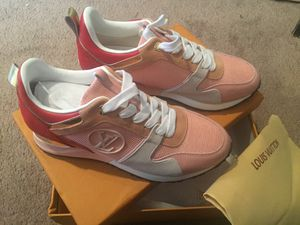 Louis Vuitton Pink Run Away Mesh Low-Top Women Sneakers Euro Size 41 for Sale in Annandale, VA