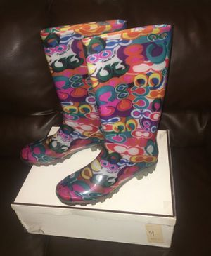 Coach Rain Boots for Sale in Scarsdale, NY