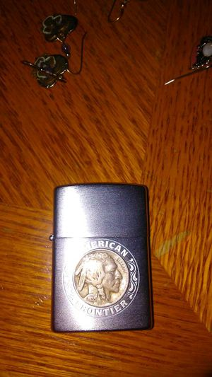 Buffalo nickel head zippo lighter 1935 for Sale in Tacoma, WA
