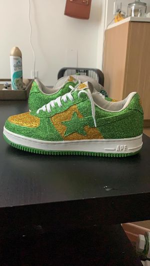Green an Yellow Bapes 10.5 (STEAL) for Sale in Portland, OR