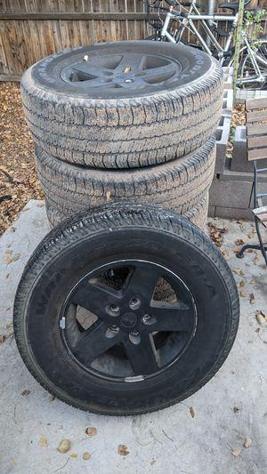 Jeep Wrangler wheels for Sale in Phoenix, AZ