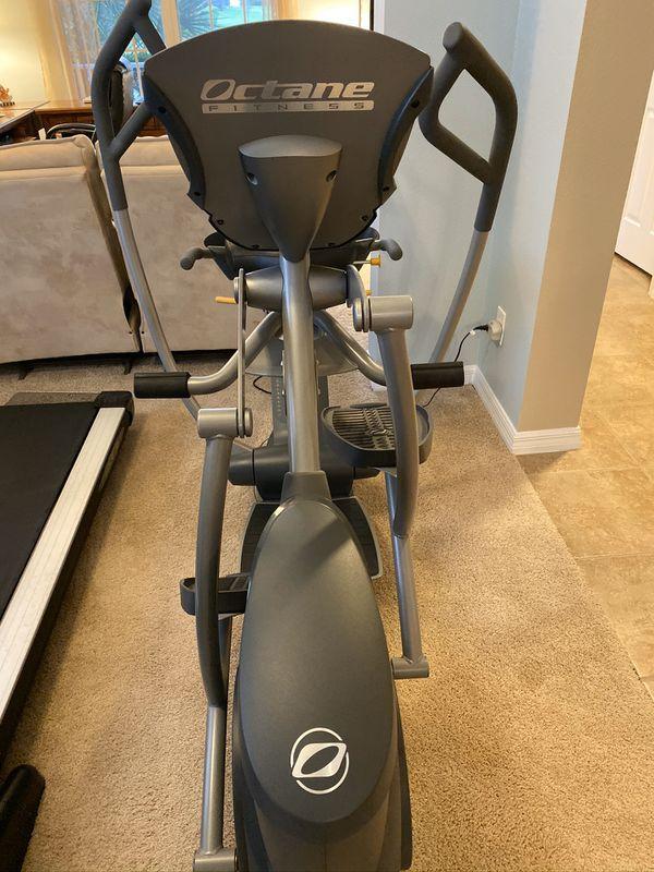 Octane Fitness Recumbent (sitting) elliptical (Gym Quality).