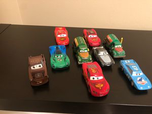 Collectible Disney Cars the Movie Metal Die Cast Car Figures for Sale in Seattle, WA