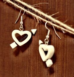 Heart Earnings Made By Alaskan Native Artist for Sale in North Bend,  WA