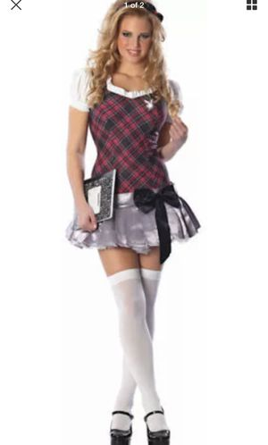 Playboy Collegiate Cutie Sexy Plaid Dress Costume by Rubie's - NEW!Halloween Costume for Sale in TEMPLE TERR, FL