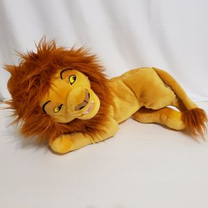 """Mufasa Lion King Large 19"""" Disney Stuffed Plush Toy Animal Theme Park Exclusive for Sale in Brookfield, IL"""