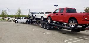 2017 Down to Earth 50 ft 3-4 car Trailer for sale.... 10k OBO... all new Brakes ,drums,tires for Sale in Fort Washington, MD