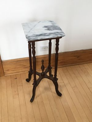 Antique marble top table for Sale in Chicago, IL