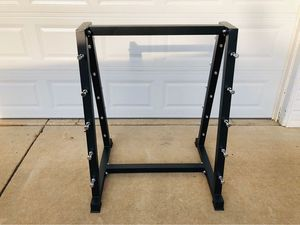 Barbell Rack - Curl Bars - Workout - Fitness - Exercise - Gym Equipment - Training for Sale in Downers Grove, IL