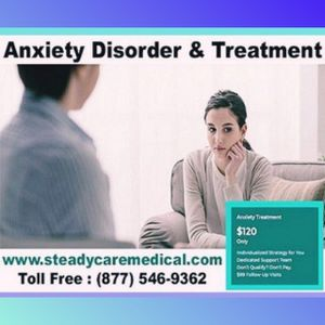 •√Getting Anxiety disorder consultation & treatment plan for Sale in North Tustin, CA
