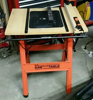 Portable Saw^Router Table mounted w/ Circular Saw for Sale in Fairview Park, OH