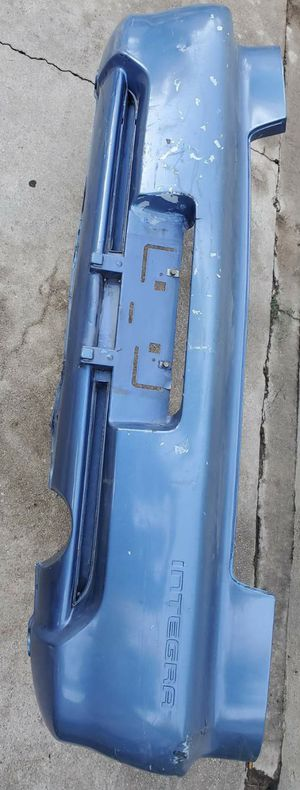 Integra rear bumper - 4 door for Sale in San Bernardino, CA