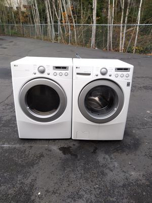 Washer and dryer lg for Sale in Seattle, WA