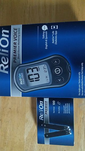NIB - glucose monitoring system and strips for Sale in Shepherdstown, WV