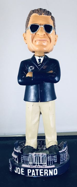Joe Paterno Penn State limited edition bobblehead, only 5,000 made! for Sale in Skokie, IL