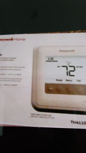 Honeywell Home thermostat for Sale in Riverside, CA