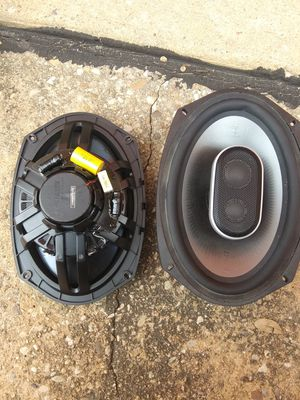 Pair 6x9 polks MM 692 car audio speakers for Sale in Austin, TX