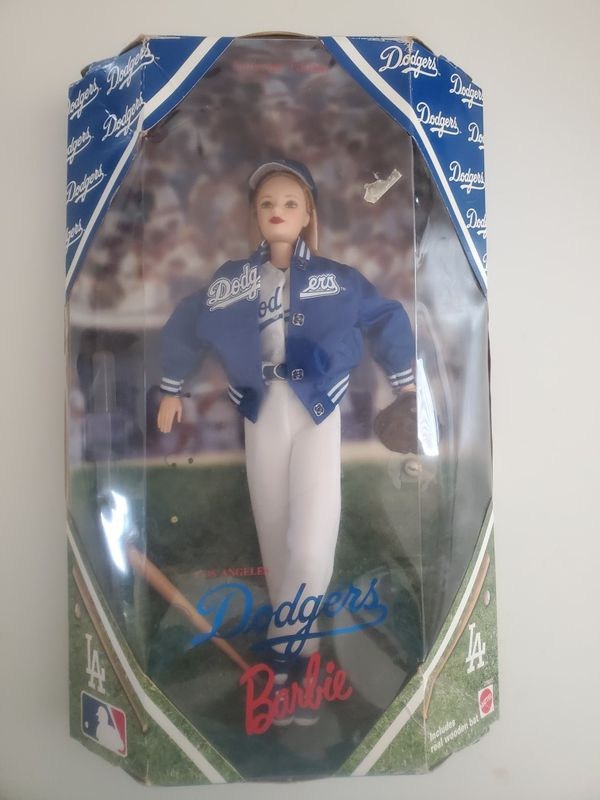 Los Angeles Dodgers Barbie