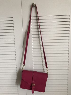 Red Leather Crossbody Bag for Sale in San Francisco, CA