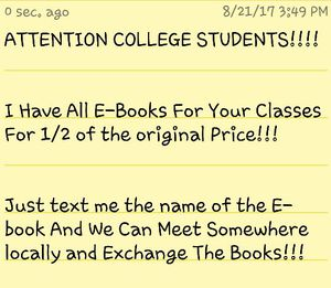 I Have All E-Books For College Students!! for Sale in Atlanta, GA