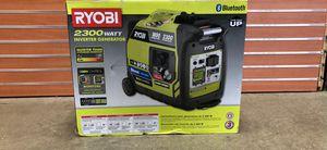 Brand New RYOBI 2300Watt Bluetooth Inverter Generator for Sale in Boston, MA