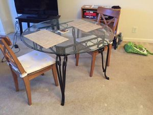 Patio Table or Dining Table - 48 inches for Sale in Falls Church, VA