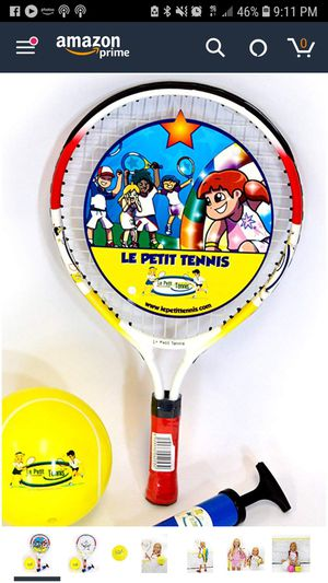 Le petit kids tennis racket 17 inches for Sale in Dallas, TX
