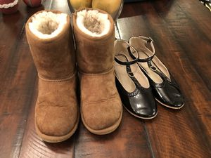 Girls UGG boots & Zara girls dress shoes size 2-2.5 for Sale in Mill Creek, WA