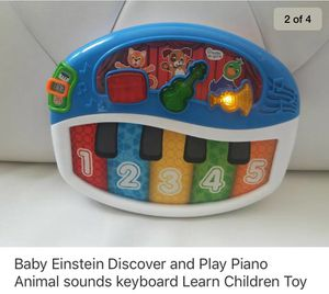 Kids piano toy baby Einstein keyboard learn play children's toddlers for Sale in Cary, NC
