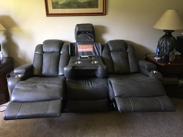 New Ashley Turbulence Power Sofa For Sale In Fairborn Oh