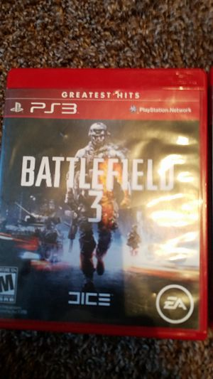 Battlefield ps3 rated M for Sale in Hampton, IA