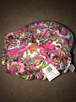 "Vera Bradley travel fleece throw blanket and tape measure 60"" x 45"" for Sale in Kenosha, WI"