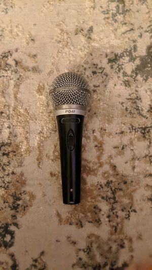 Shure PG48 XLR Cardioid Dynamic Vocal Microphone Mic with Switch for Sale in Escondido, CA