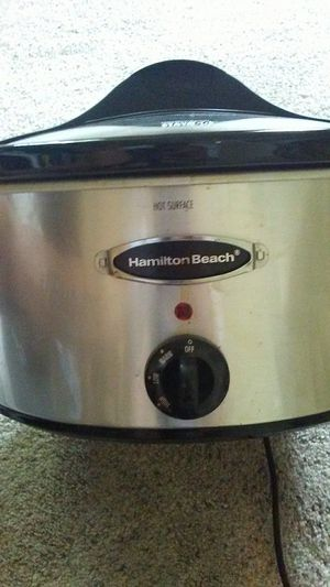 Hamilton beach crock pot for Sale in Medina, OH