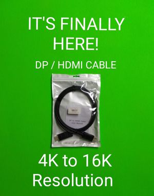 COMPUTER PART: HIGH-SPEED DISPLAY PORT CABLE / LIMITED SUPPLY / PRICE IS FIRM for Sale in Phoenix, AZ
