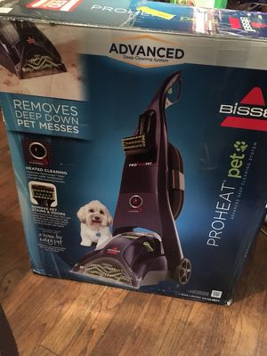 Bissell proheat pet advanced deep cleaning system. for Sale in Dublin, GA