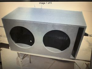 Subwoofer enclosure for two 12's for Sale in Las Vegas, NV