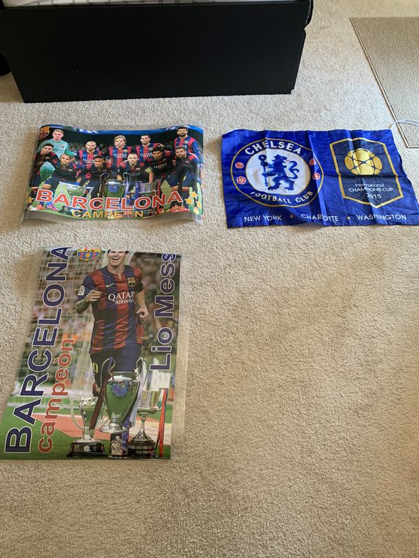 Fc Barcelona Posters/Chelsea/Sign