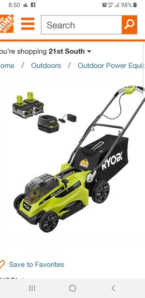 Ryobi Lawn Mower/Blower/Trimmer/Chainsaw for Sale in Salt Lake City, UT