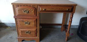 Wood desk for Sale in Phoenix, AZ