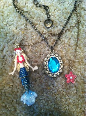 Limited Edition Betsey Johnson mermaid necklace for Sale in Lake Stevens, WA