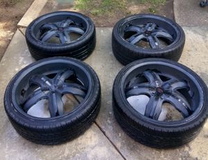 """20"""" Black Universal Rims for Sale in Los Angeles, CA"""