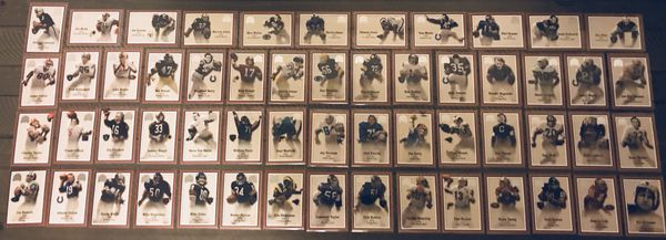 87 Greats of the Game NFL Cards Including Eric Dickerson, Walter Payton, Lawrence Taylor, Archie Manning, Steve Young, Joe Greene & More!!!