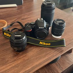 Nikon D5600 Mint Condition for Sale in Bloomington,  CA
